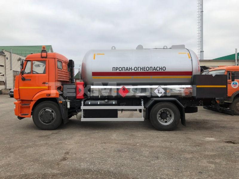 Газовоз КАМАЗ 43253 с АЦТ-12