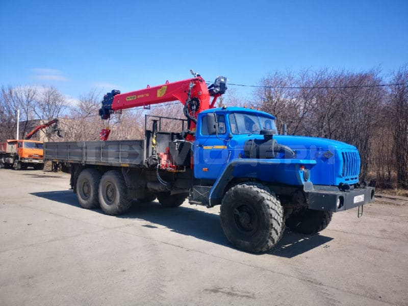 Урал 4320 с КМУ INMAN IT 150