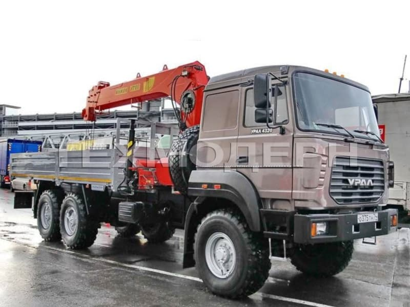 Урал 4320-82М с КМУ INMAN IT 180